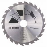 Disco standard Bosch per sega circolare 180 x 30/20 mm 24 denti