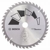 Disco standard Bosch per sega circolare 205 x 16/18/20/24 mm 40 denti