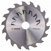 Disque de précision Bosch pour scie circulaire 130 x 20/16 mm 18 dents