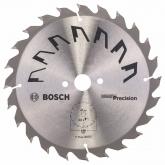 Disque de précision Bosch pour scie circulaire 190 x 20/16 mm 24 dents
