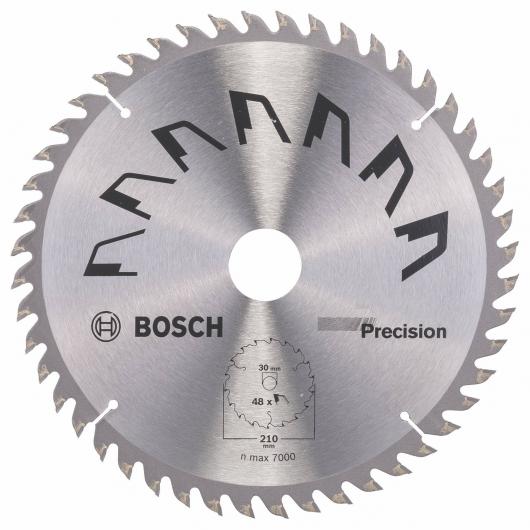 Disco di precisione Bosch per sega circolare 210 x 30 mm 48 denti
