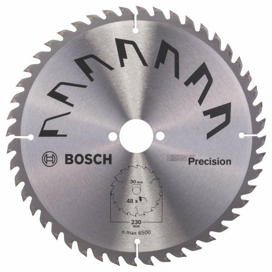 Disque de précision Bosch pour scie circulaire 230 x 30 mm 48 dents