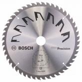 Disco de precisión Bosch para sierra circular 250 x 30 mm 48 dientes