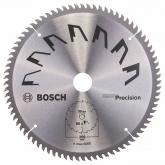 Disco de precisión Bosch para sierra circular 250 x 30 mm 80 dientes