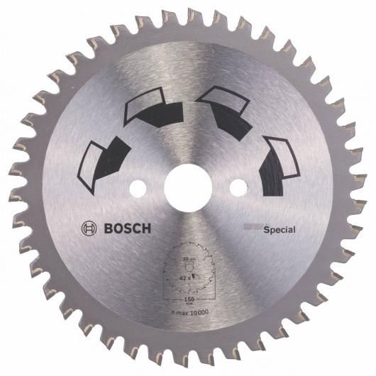 Disco multimateriale Bosch per sega circolare 150 x 20/16 mm 42 denti
