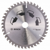 Disco multimaterial Bosch para serra circular 160 x 20/16 mm 42 dentes