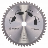 Disque tous matériaux Bosch pour scie circulaire 184 x 16 mm 48 dents