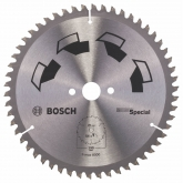 Disco multimaterial Bosch para serra circular 190 x 20/16 mm 54 dentes