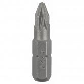 Pacote de 2 pontas Bosch Pozidriv Ph 2 25 mm