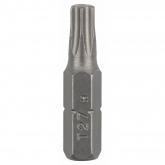 Pacote de 2 pontas Bosch Torx T 27 25 mm