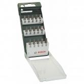 Conjunto de 15 pontas para aparafusar Bosch com portapontas
