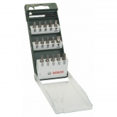 Set de 15 puntas para atornillar Bosch con portapuntas