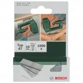 Pack de 1000 pregos Bosch para agrafador 1.8 x 16 mm