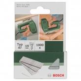 Pack de 1000 pregos Bosch para agrafador 1.8 x 19 mm