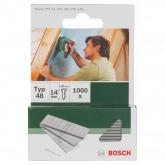 Pack de 1000 pregos Bosch para agrafador 1.8 x 14 mm
