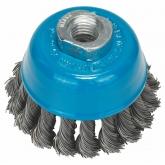 Escova de arame trançado Bosch para rebarbadora 75 mm