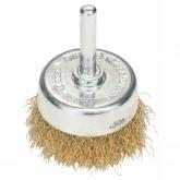 Cepillo de alambre de latón ondulado Bosch para taladro 50 mm