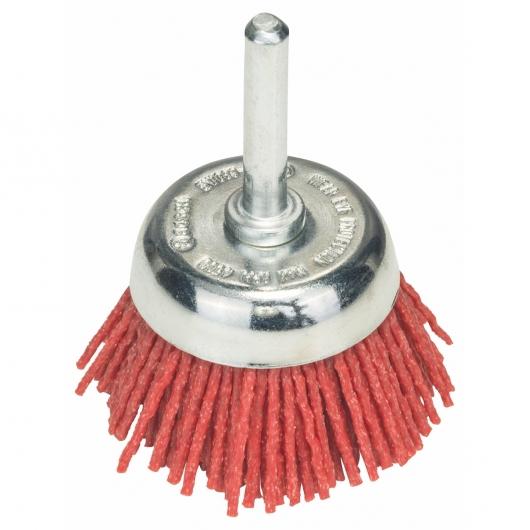 Spazzola di rame in nylon con conrindone Bosch per trapano 50 mm