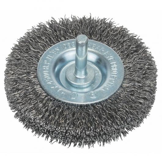 Brosse circulaire en fil ondulé Bosch pour perceuse 75 mm