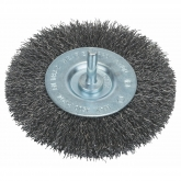 Brosse circulaire en fil ondulé Bosch pour perceuse 100 mm
