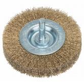 Brosse circulaire en fil de laiton ondulé Bosch pour perceuse 75 mm