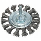 Brosse circulaire en fil tressé Bosch pour perceuse 75 mm