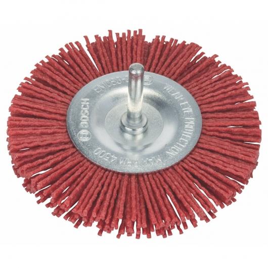 Brosse circulaire en fil de nylon Bosch pour perceuse 100 mm