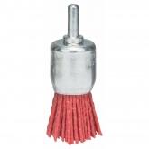 Spazzola pennello con filo metallico nylon Bosch per trapano 25 mm