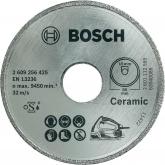 Disque diamant Bosch pour scie circulaire PSK 16 Multi pour la coupe de la céramique