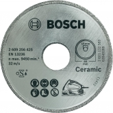 Disco de diamante Bosch para sierra circular PSK 16 Multi para cortar cerámica