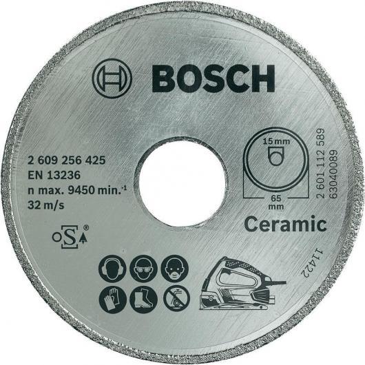 Disco diamantato Bosch per sega circolare PSK 16 Multi per tagliare ceramica