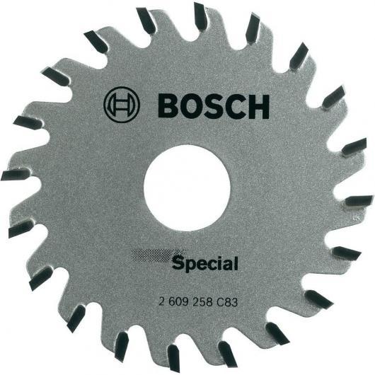 Disque de coupe Bosch 20 dents pour scie circulaire PKS 16 Multi