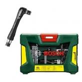 Valigetta Bosch V-line di 41 pezzi per forare e avvitare