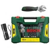 Valigetta Bosch V-line 83 pezzi per forare e avvitare