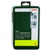 Set de 25 brocas Bosch HSS-R para metal