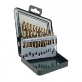 Set de 13 brocas Bosch HSS-Ti para metal