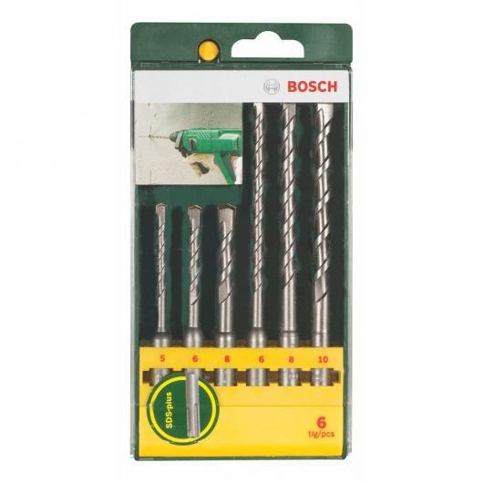 Set di 6 punte Bosch SDS-Plus