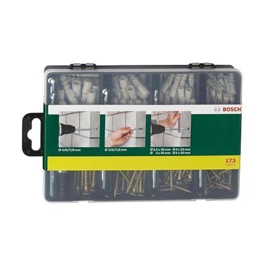 Kit de fixation pour la pierre SDS-Plus Bosch 171 pièces