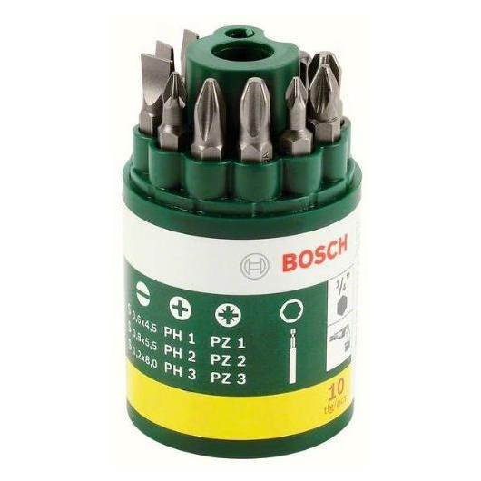 Set de 10 piezas Ph+SL Bosch para atornillar