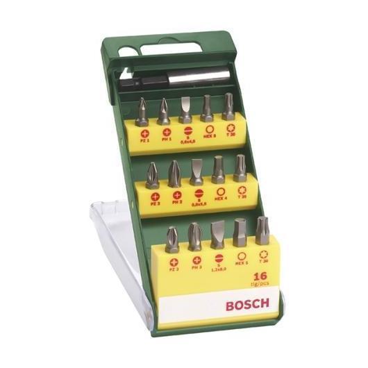 Set de 15 unidades para atornillar Bosch