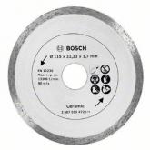 Disco de diamante Bosch Promoline 115 mm para cortar azulejos