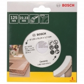 Disco de diamante Bosch Promoline 125 mm para cortar azulejos