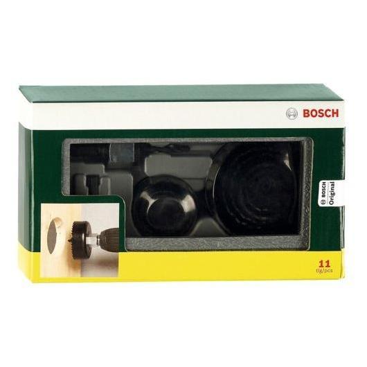 Lot de 11 scies à cloche Bosch pour bois et plâtre