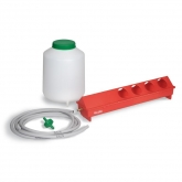 Automatic drinker kit for birds