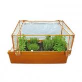Estufa para container horta urbana