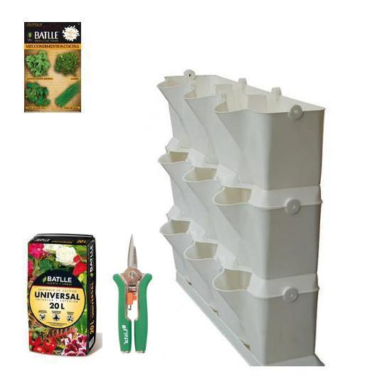 Kit jardín vertical