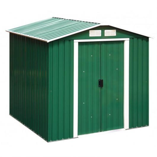 Caseta metálica color verde Rivertown Duramax