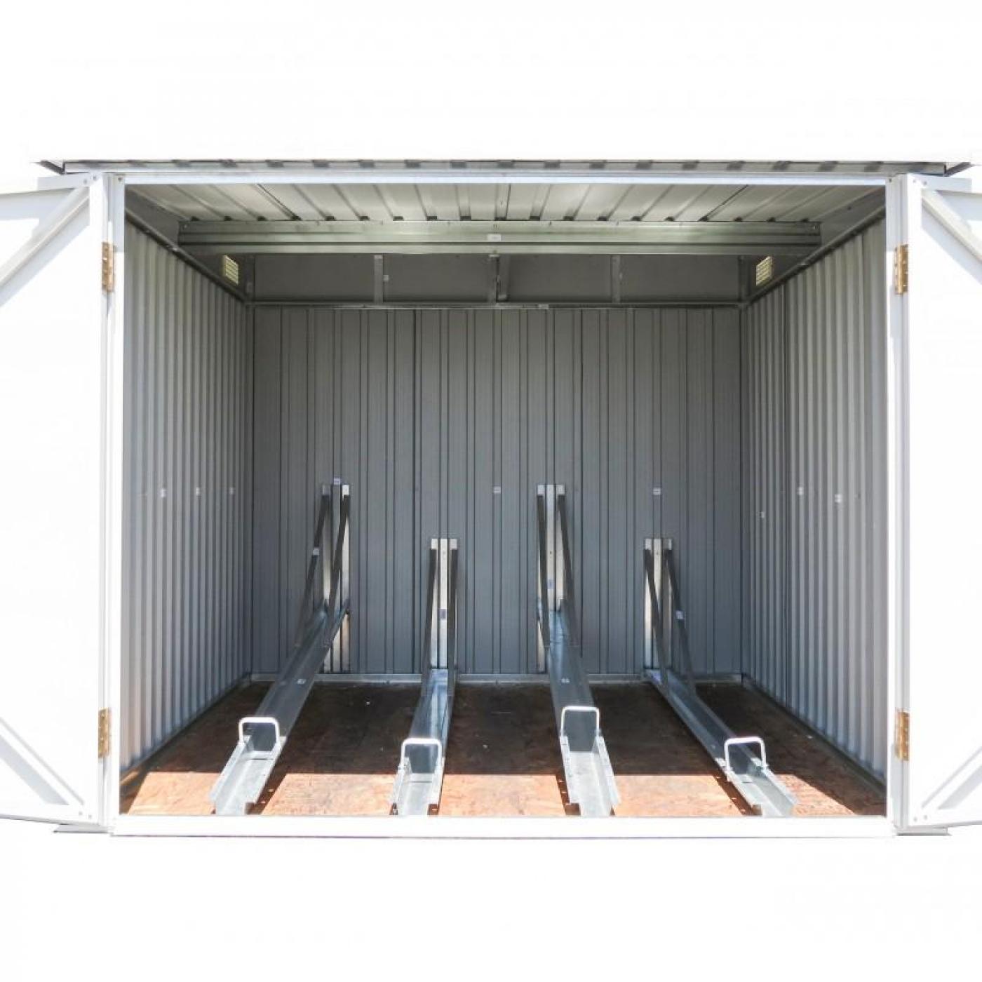 Caseta para guardar bicicletas duramax por 599 95 en for Armario exterior para guardar bicicletas