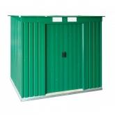 Caseta metálica color verde PentRoof Duramax