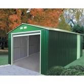 Garaje metálico color verde Lyon Duramax